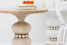 Stunning Tables / Starting a collection of my favorite furniture pieces on Pinterest. Both custom-made and store-bought.