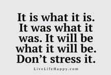 Life mottos