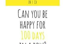 #100happydays / happines - we start on 6 june - @ilaria fascini
