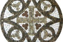 mosaico bizantino cruz