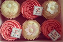 Get well soon cakes and cupcakes