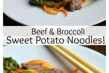 Paleo Stirfry/Noodles