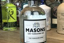 Gins of The Devonshire Arms at Beeley / Join the Devonshire Arms at Beeley from May 2017 for a taste of a different gin everyday!