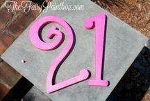 Pink Newborn, Pink Birthday, Pink Wedding Decor & Centerpieces