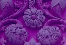 purple, lavanda, violet...