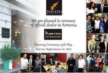 Tosato's new official armenian dealer / Tosato's new official armenian dealer