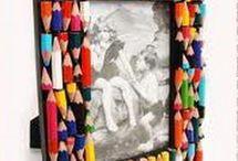 kalem boyası cerceve