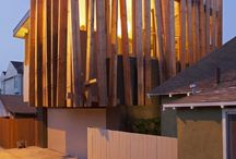 FACADE / VERTICAL WOOD CLADDING