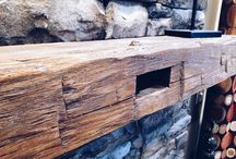 Beams / Antique wood beams, reclaimed and milled for your viewing pleasure!