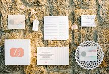 Wedding stationery / Lovely paper goods we see at the weddings we shoot