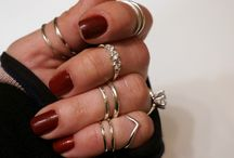 Midi Rings & Knuckle Rings / Artisan Handmade Midi & Knuckle Rings in 925 Sterling Silver and Argentium Sterling Silver