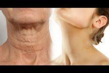 eliminar pele do pescoço