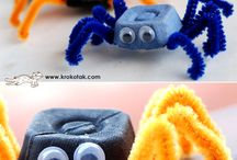 Edderkopp / Flaggermus