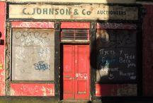 Façade irlandaise / Photos de façades irlandaise prises au grès des promenades