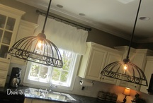repurposed lighting / by Laurie Smith