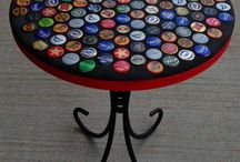 mesa de tampinha