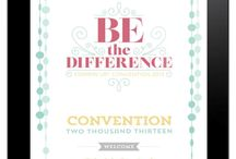 Stampin' Up! National Convention 2013 / Making a difference for 25 years SU! Anniversary at National convention