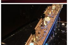 Titanic sinking diorama / Titanic sinking diorama