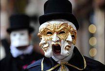 Velence,velencei maszkok