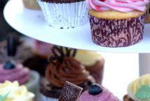 Cake, cupcakes, food
