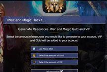 War and Magic hack gold