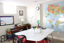 Homeschool Classroom  / Homeschool Classroom set ups and inspiration / by The Happy Housewife
