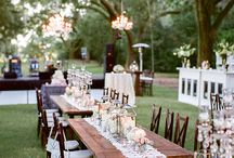 Reclaimed Farm Table Wedding Rental