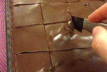 Krémes csoki süti