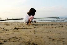 Alexia / child beach photography