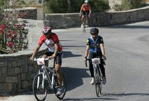 Paros Triathlon / The annual Paros Triathlon is for teenagers over 13 years old and for adults and includes swimming at Ai Yiannis Detis bay, street cycling around the area of Paros Park and running at the footpaths of Paros Park.