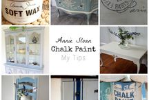 Annie's painted furniture / Give new life to old furniture