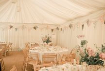 Vintage tea party theme / The tea party/summer fete/garden party theme is perfect for a more informal and chilled out wedding.