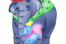dumbo l'éléphant