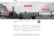Portfolio - web / Sites web créés par l'agence