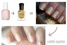 S - Pretty nails / S for style.