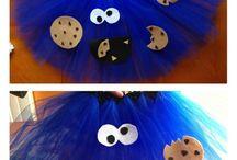 Cookie monster stuff / by Krystal Wilkinson