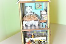 Doll houses / Sa Crafters doll house products