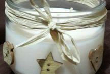 CHRISTMAS CANDLES / Velas y coronas decoradas a mano desde 11.000 COP