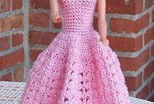 vestidos a xrochet