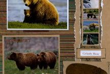 Animal Scrapbook pages