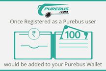 New User Registration on purebus.com / Online bus ticket booking