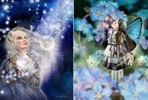 Волшебный мир и цветочная сказка в творчестве японской художницы Йокота Михару!!!