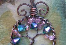 Wire & Bead art