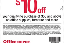 Office and Business Printable Coupons / Printable Coupons and Coupon Codes for Office Max, Office Depot, Staples, and more / by Cha Ching Queen