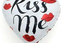 Kiss love шары
