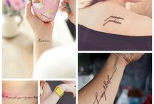 tatoo / by Caroline Desfossés