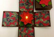 julekort og bokser