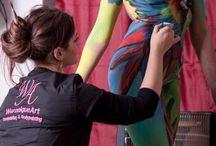 weronique art- bodypainting (miei lavori)