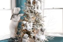 Artic Wilderness Collection / Have some fun!  We have a delightful assortment of ornaments, display pieces and sprays to help you create an Artic Wilderness Christmas of your own