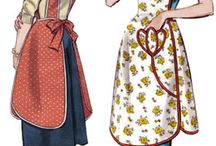 Aprons!!! / by Leslie Leon-Cremeens